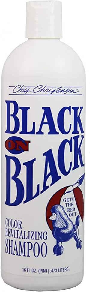 CHRIS CHRISTENSEN Black On Black Shampoo - šampūns suņiem un kaķiem 473ml