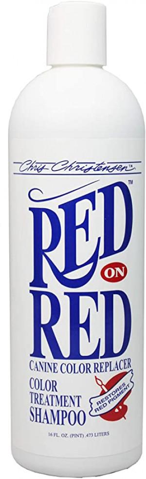 CHRIS CHRISTENSEN Red On Red Shampoo - šampūns suņiem un kaķiem 473ml