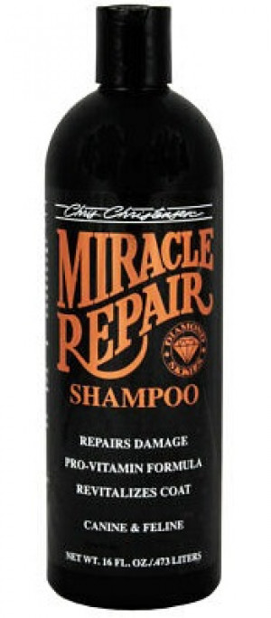 CHRIS CHRISTENSEN Diamond Miracle Repair Shampoo - šampūns suņiem un kaķiem 473ml