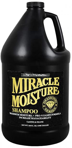CHRIS CHRISTENSEN Diamond Miracle Moisture Shampoo - šampūns suņiem un kaķiem 3,78 L
