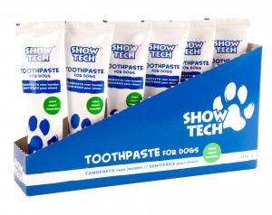 Show Tech Display Toothpaste Mint Teeth - zobu pasta suņiem 6 x 85g