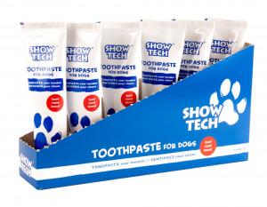 Show Tech Display Toothpaste Beef - zobu pasta suņiem 6 x 85g