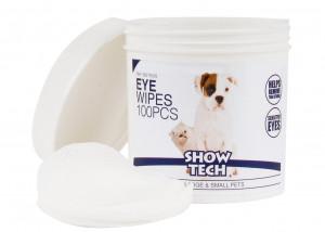 Show Tech Eye Wipes - mitrās salvetes acu tīrīšanai suņiem un kaķiem 100gab