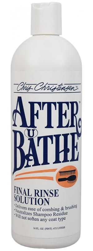 CHRIS CHRISTENSEN After U Bathe Final Rinse Solution - skalošanas līdzeklis suņiem un kaķiem 473ml