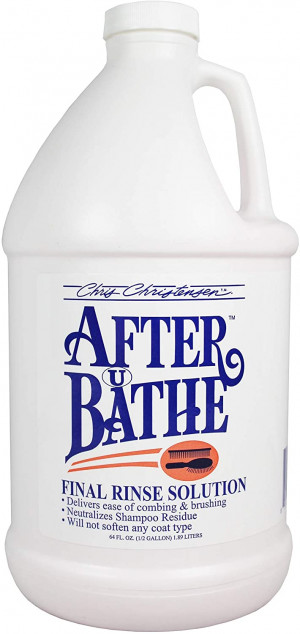 CHRIS CHRISTENSEN After U Bathe Final Rinse Solution - skalošanas līdzeklis suņiem un kaķiem 3,78L