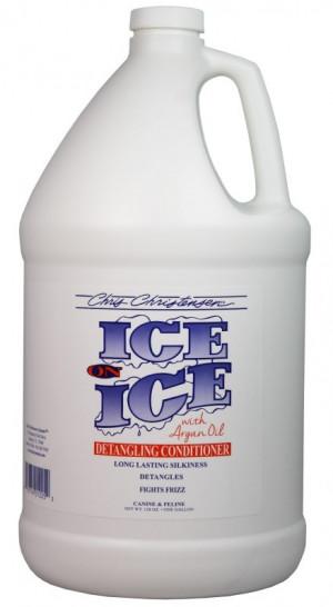 CHRIS CHRISTENSEN Ice On Ice Detangling Conditioner - kondicionieris suņiem un kaķiem 3,78L