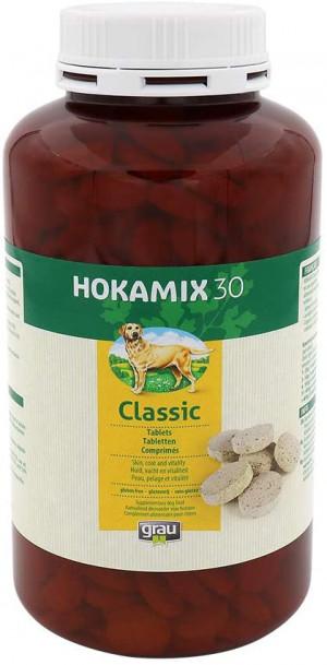 HOKAMIX 30 Classic Tablets - papildbarība suņiem 200 tab.