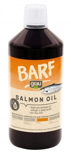 GRAU Barf Salmon Oil - papildbarība suņiem 750ml