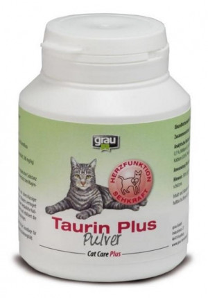 GRAU Cat Care Plus Taurin Plus Powder - papildbarība kaķiem 60g
