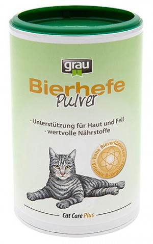 GRAU Cat Care Plus Brewer's Yeast Powder - papildbarība kaķiem 150g