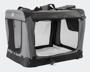 Innopet Carrier All in One - auduma transportēšanas būris, pelēks