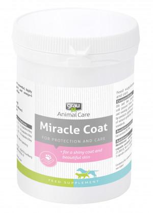 GRAU Animal Care Miracle Coat - papildbarība suņiem un kaķiem 90 kaps.