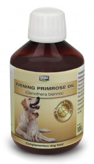 GRAU Evening Primrose Oil - papildbarība suņiem 100ml