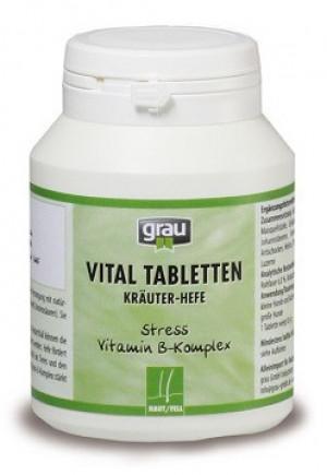 GRAU Vital Tablets (Herbs - Yeast) - papildbarība suņiem un kaķiem 200 tab.