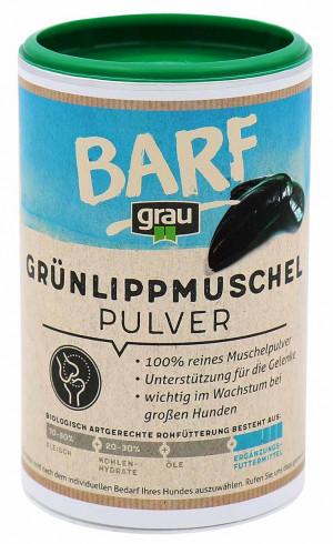 GRAU Barf Green Lipped Mussel Powder - papildbarība suņiem 500g