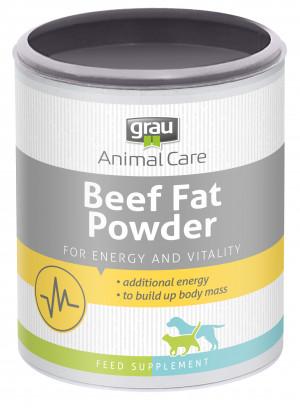 GRAU Beef Fat Powder - papildbarība suņiem un kaķiem 200g