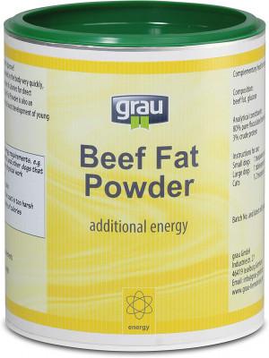 GRAU Beef Fat Powder - papildbarība suņiem un kaķiem 50g