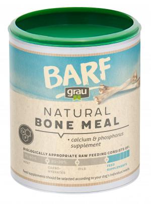 GRAU Barf Natural Bone Meal Calcium Powder - papildbarība suņiem 400g