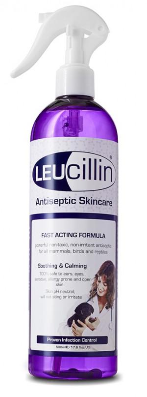 LEUCILLIN līdzeklis infekciju kontrolei dzīvniekiem 250ml