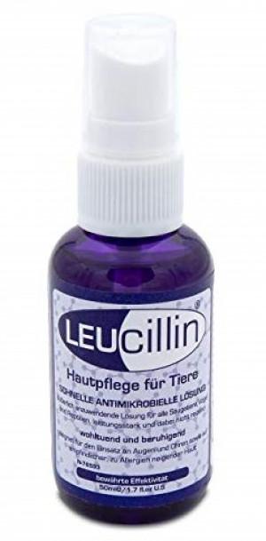 LEUCILLIN līdzeklis infekciju kontrolei dzīvniekiem 50ml