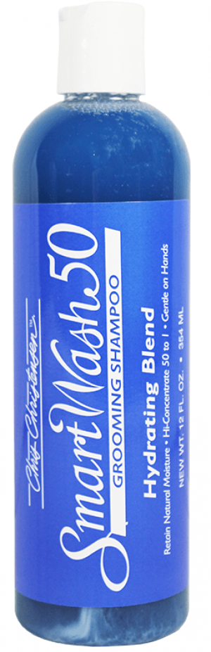 CHRIS CHRISTENSEN Smart Wash 50 Hydrating Blend Grooming Shampoo - šampūns suņiem un kaķiem 354ml