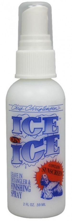CHRIS CHRISTENSEN Ice On Ice RTU Leave-In Finishing Spray - izsmidzināms kondicionieris suņiem un kaķiem 59ml