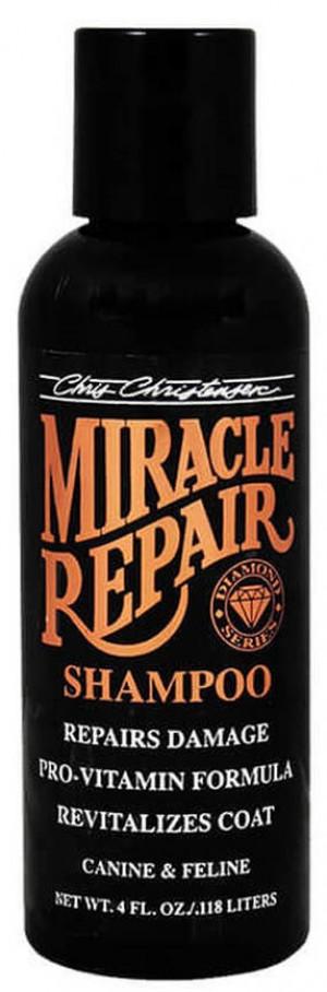 CHRIS CHRISTENSEN Diamond Miracle Repair Shampoo - šampūns suņiem un kaķiem 118ml