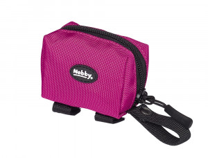 NOBBY ''Rio'' - somiņa izkārnījumu maisiņiem, aveņu krāsā