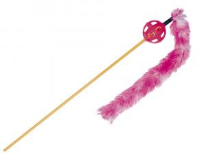 NOBBY Frond With Plush - rotaļlieta kaķiem