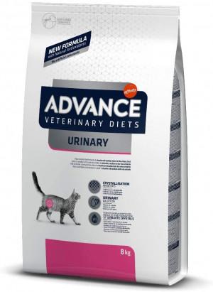 ADVANCE  VETERINARY DIETS URINARY sausā barība kaķiem 3kg