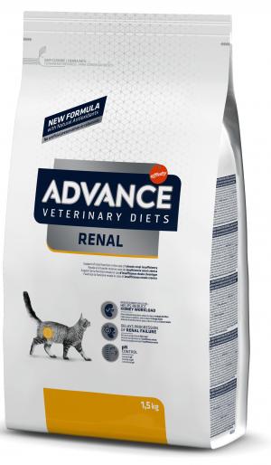 ADVANCE  VETERINARY CAT DIET RENAL sausā barība kaķiem 1,5 kg