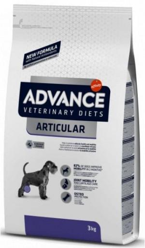 ADVANCE VETERINARY DIETS ARTICULAR CARE sausā barība suņiem 3kg