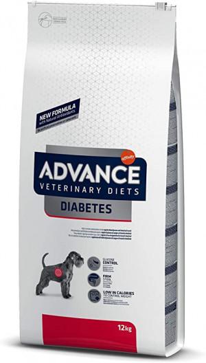 ADVANCE VETERINARY DIETS DIABETES COLITIS sausā barība suņiem 12kg