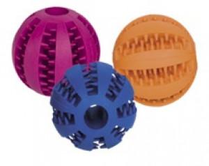 NOBBY Rubber Dental Ball - rotaļlieta suņiem