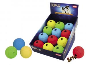 NOBBY Rubber Snack Ball - rotaļlieta suņiem