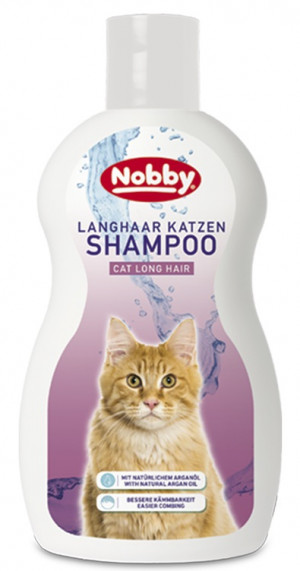 NOBBY Cat Long Hair Shampoo - šampūns kaķiem 300ml