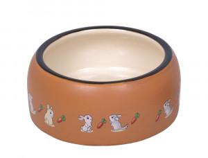 """NOBBY """"Rabbit"""" - keramikas bļoda grauzējiem"""