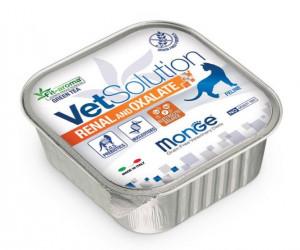 MONGE VetSolution RENAL & OXALATE - konservi kaķiem 100g