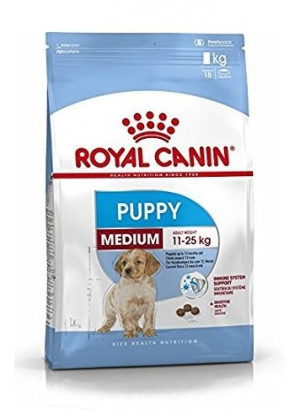 Royal Canin SHN Medium Puppy 15 kg + bļoda DĀVANĀ!