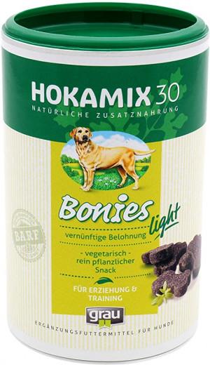 HOKAMIX 30 Bonies Light Snack - papildbarība suņiem 400g