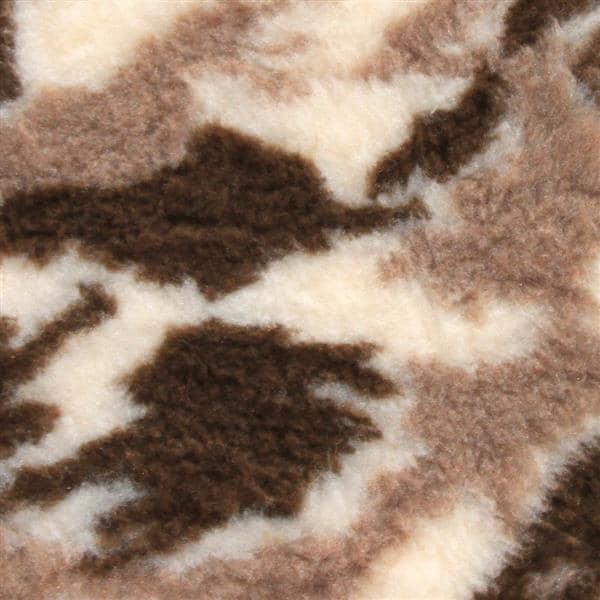 VETBED DELUXE Paklājs ar gumijotu pamatni no bieza materiāla - Bēšs