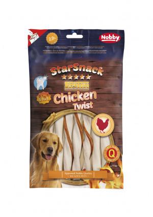 NOBBY StarSnack BBQ Chicken Twist - gardumi suņiem 113g