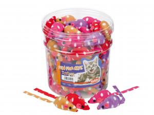 NOBBY Plush Mouse - rotaļlieta kaķiem 7cm