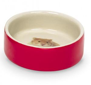 Nobby Hamster keramiskā bļoda grauzējiem Ø7,5 x 2,5 cm