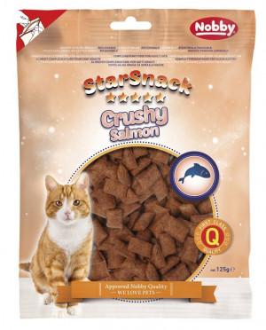 Nobby STARSNACK Crushy Salomon - gardumi kaķiem 125g