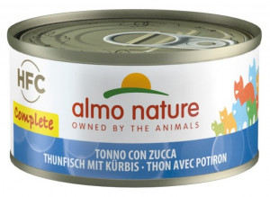 ALMO NATURE HFC Complete Cats With Tuna & Pumpkin - konservi kaķiem 12 x 70g
