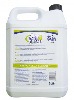 Show Tech Pet-Fresh 5 L Citronella Cleaner - tīrīšanas līdzeklis