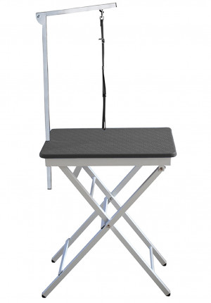 Show Tech Groom-X Ringside Table Black Show Table - grūminga galds 60 x 45 x 73-82 cm