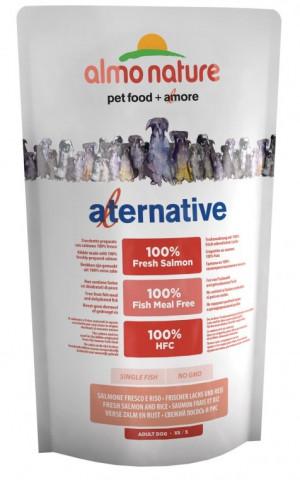 ALMO NATURE HFC Alternative Dog XS-S Salmon & Rice - sausā barība suņiem 750g