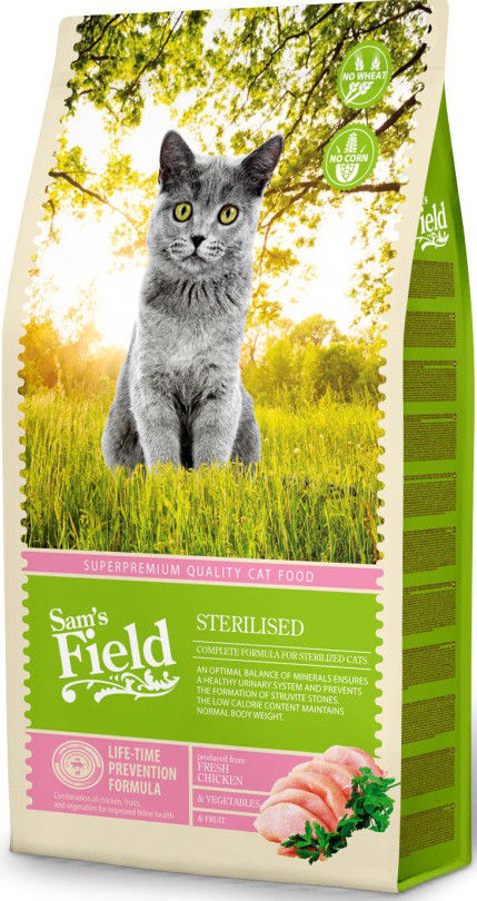 Sam's Field CAT Sterilized 2.5kg